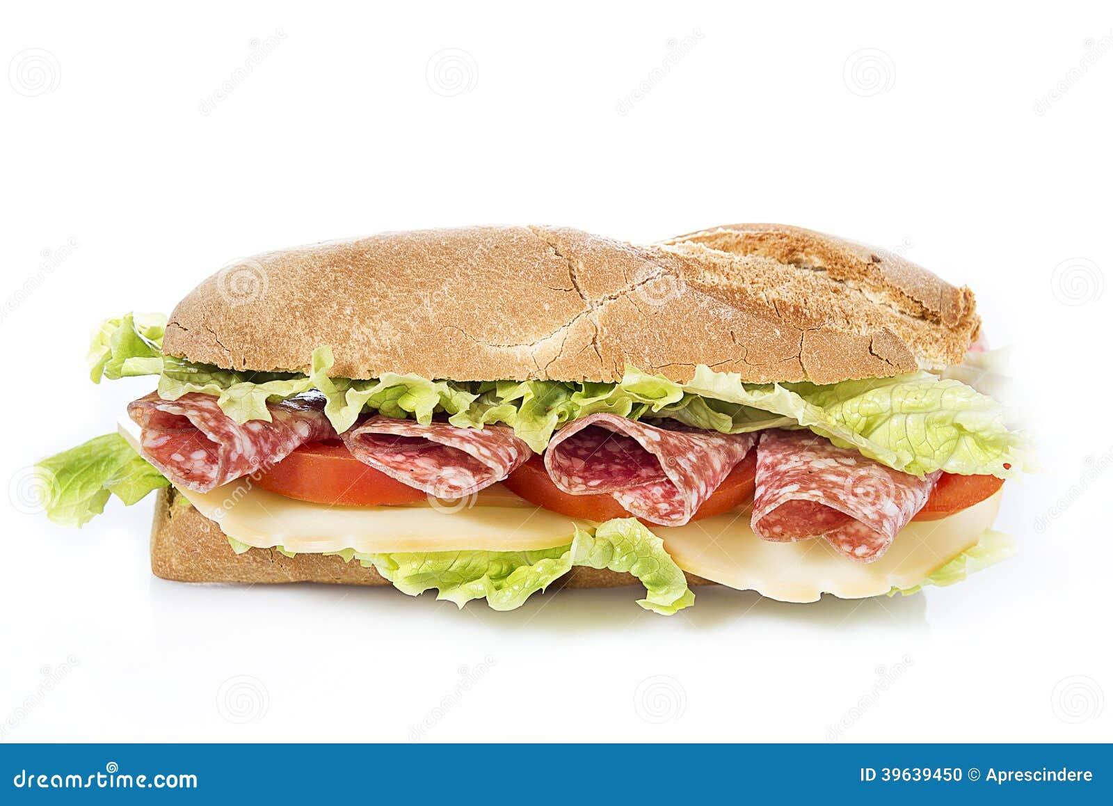 Sanduíche do salame