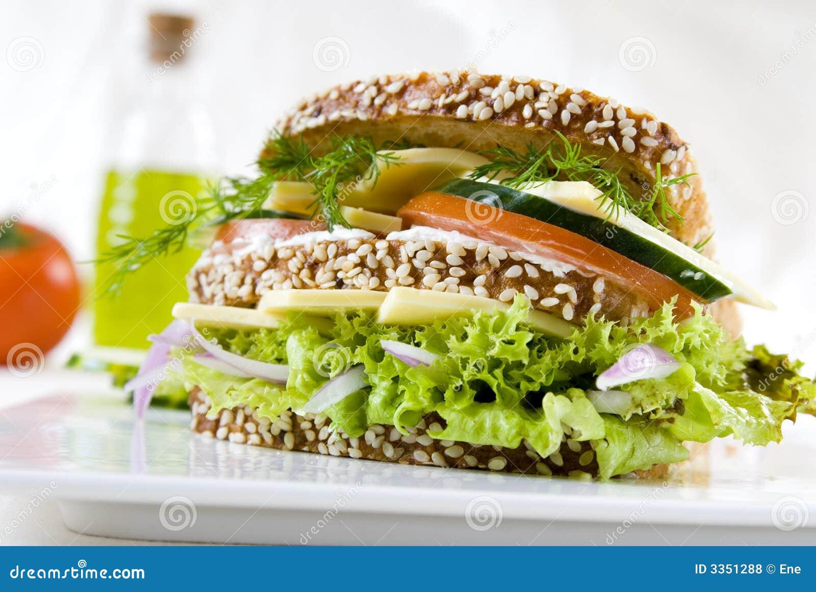 Sanduíche do vegetariano