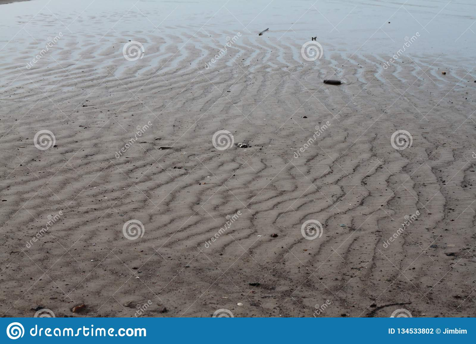 Sandwaves på stranden