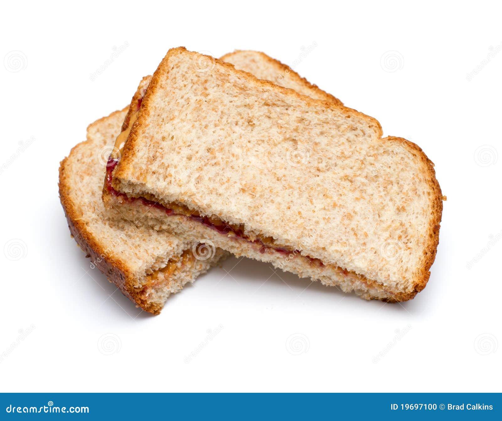 Sandwich à beurre d arachide