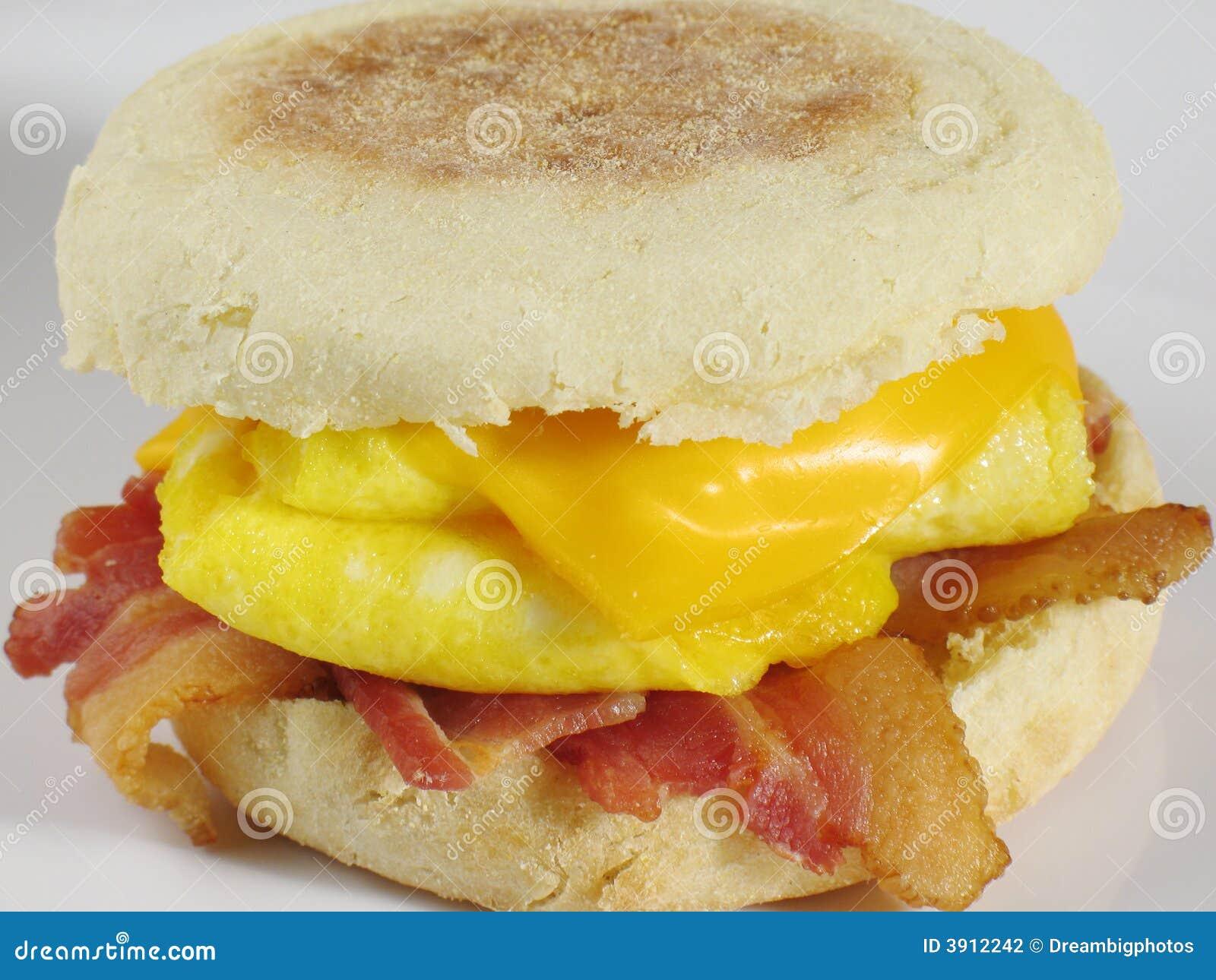 Sandwich à déjeuner de lard