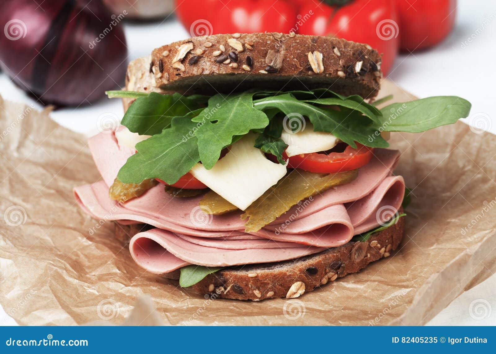 Sandwich bidon