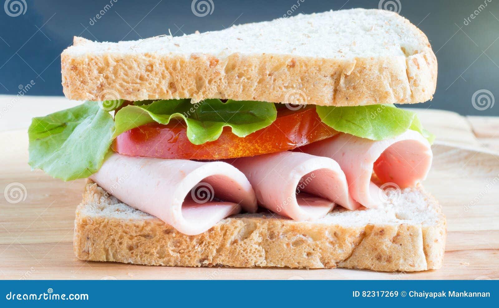 Sandwich bologna stock image. Image of vegetables, sausage ...