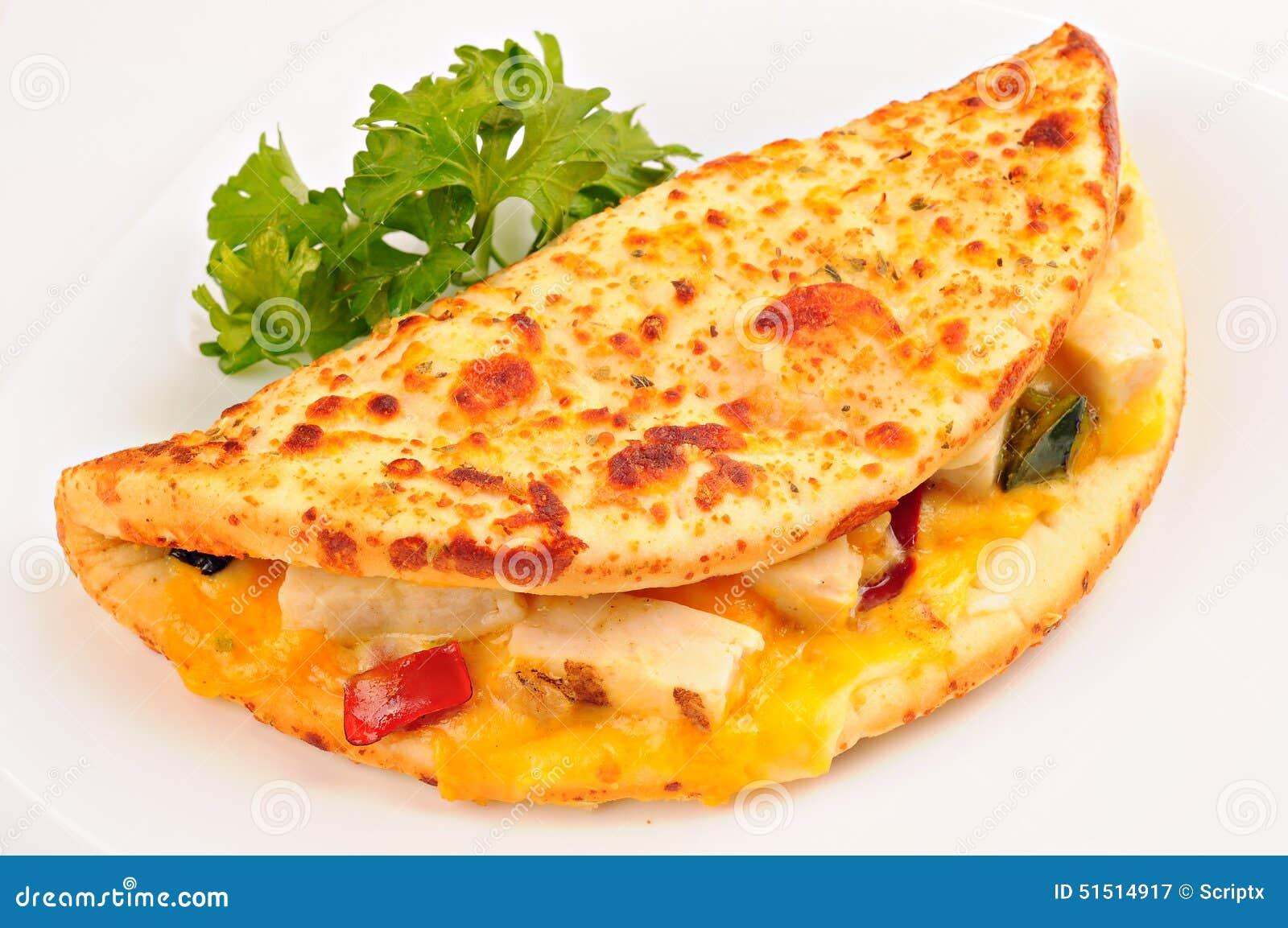 Background Cheese Chicken Grilled Parsley Pepper Sandwich