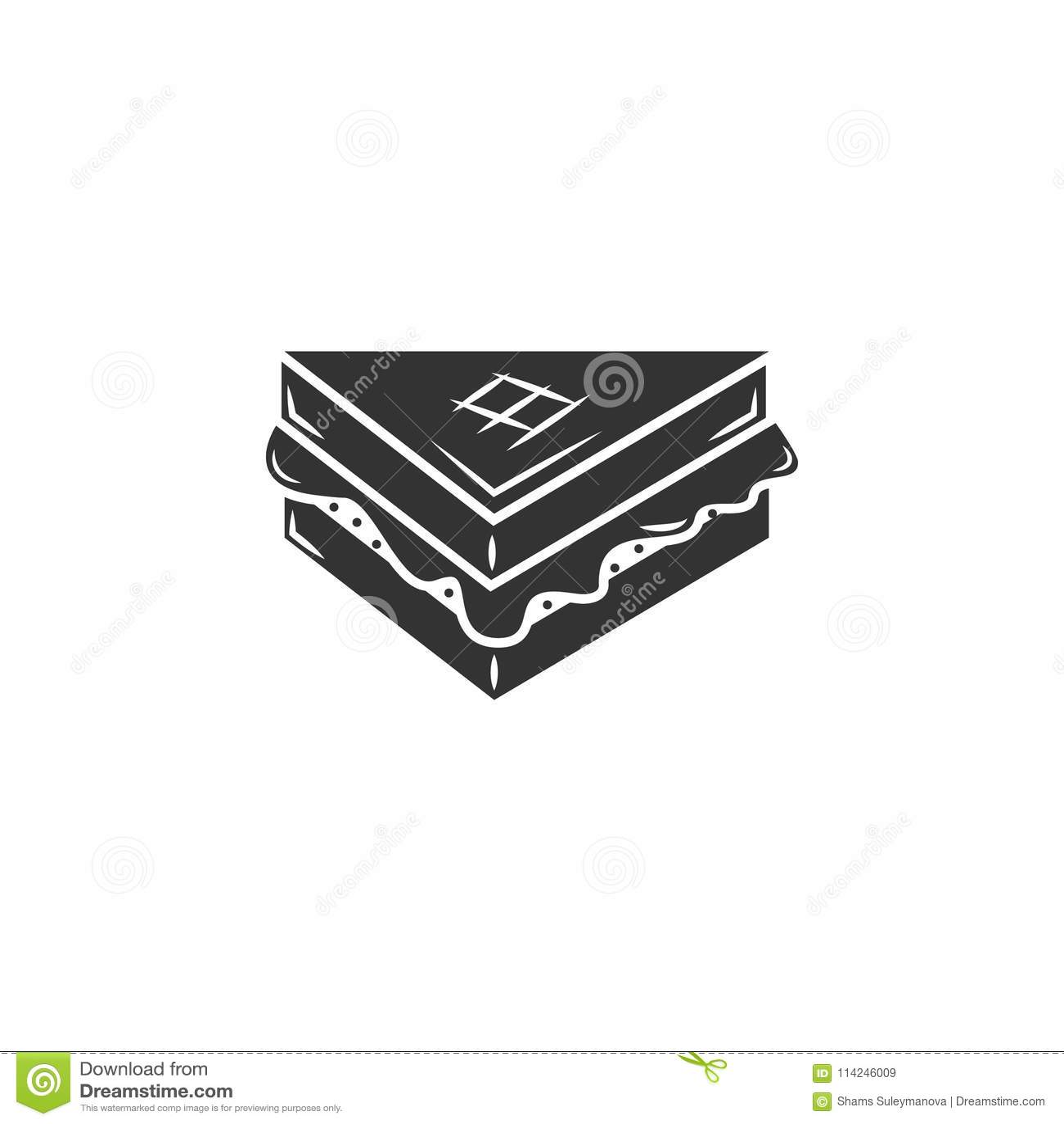 sandwich icon simple element illustration sandwich symbol design