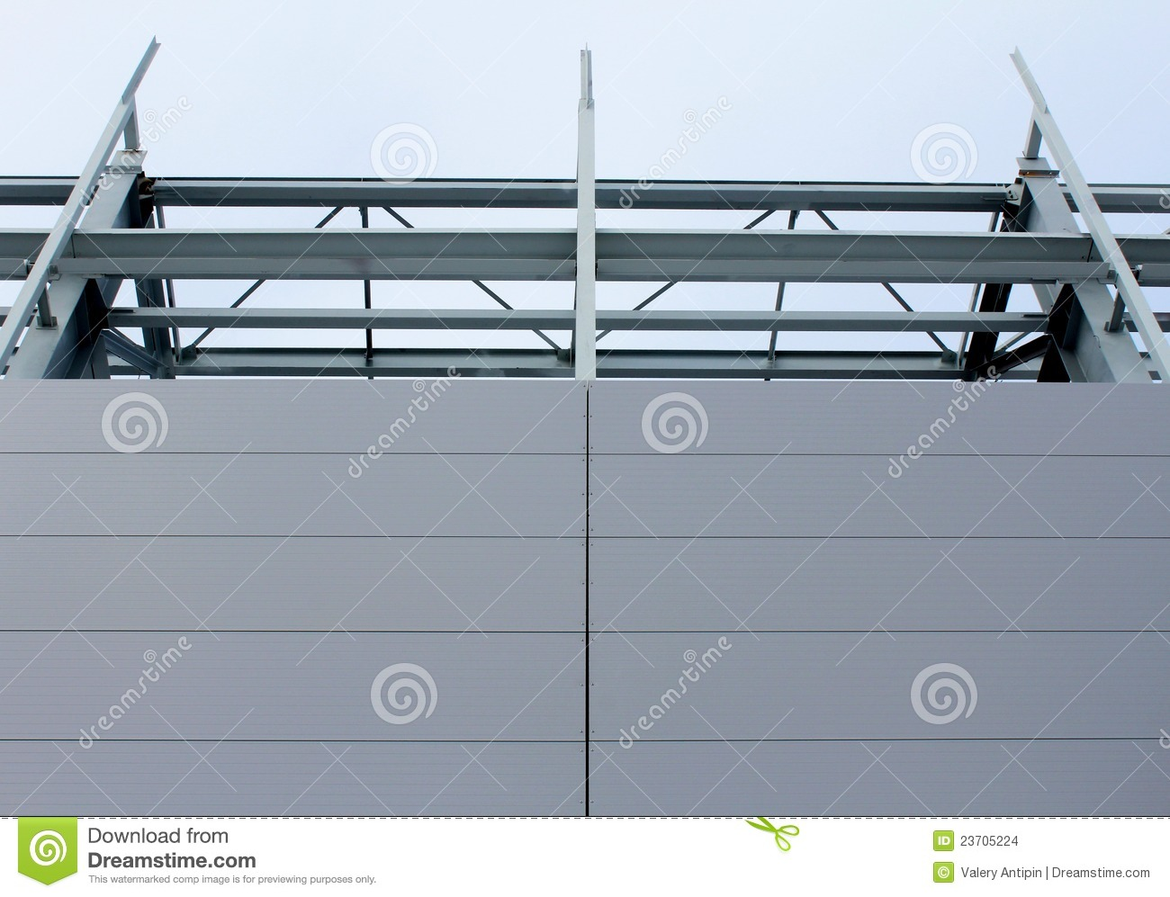 Sandwich Panel Wall stock photo  Image of insulation - 23705224