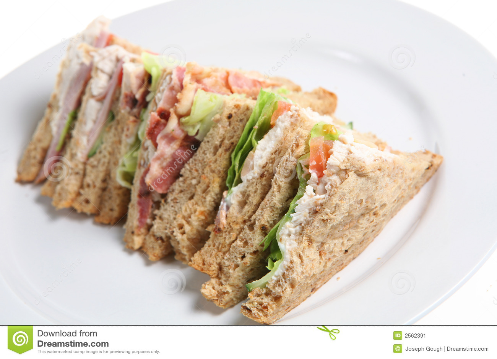 Sandwiches Stock Image Image 2562391
