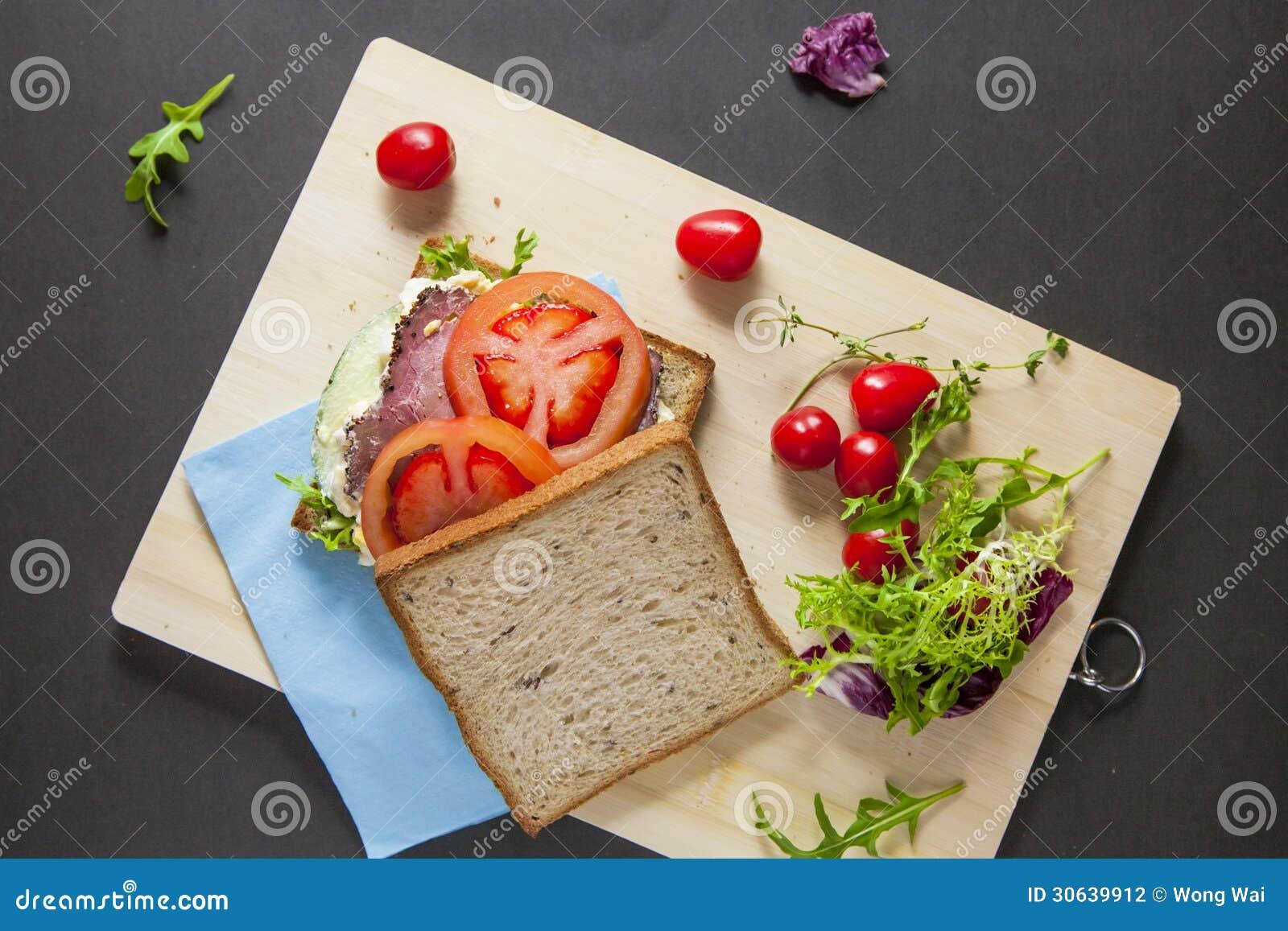 sandwiches-bacon-lettuce-broken-egg-salad-tomato-fresh-tomato-lettuce ...