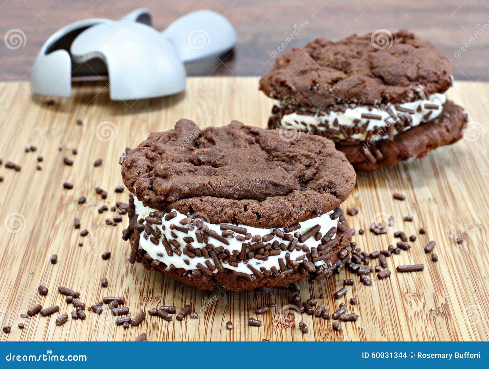 Gateau sandwich creme glacee