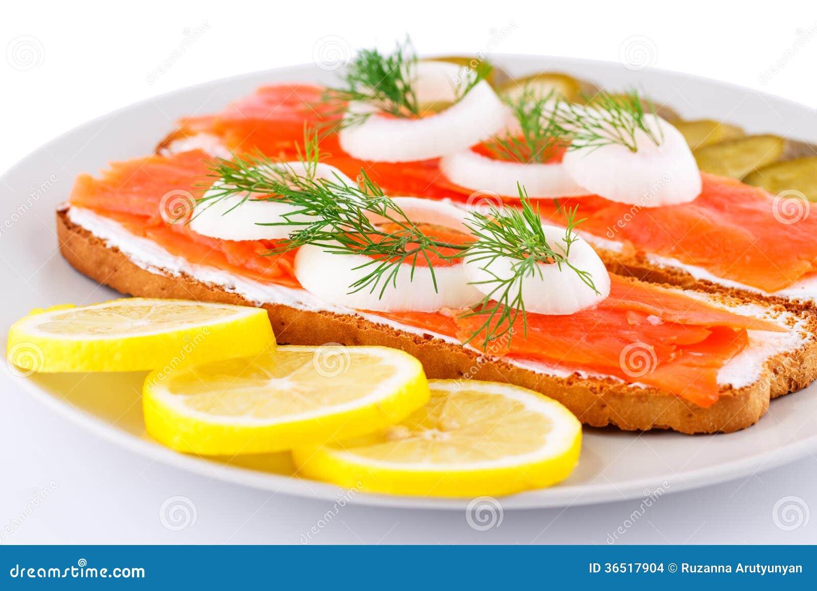 Sandwichs saumonés