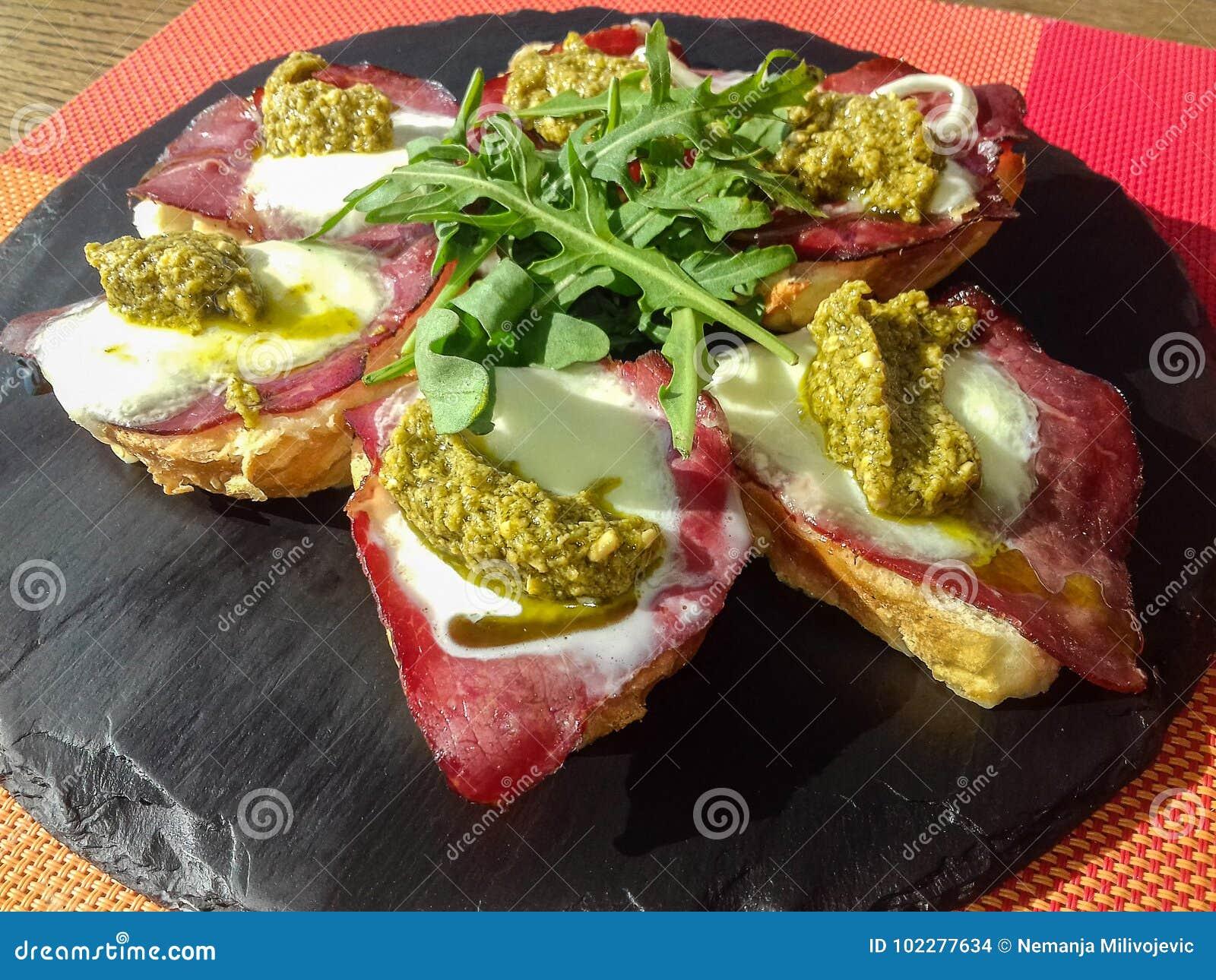 Sandwichs savoureux
