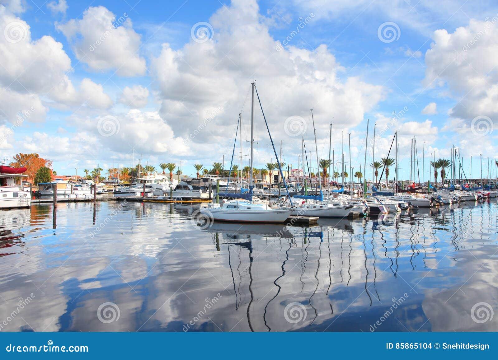 Sanford stad i centrala Florida