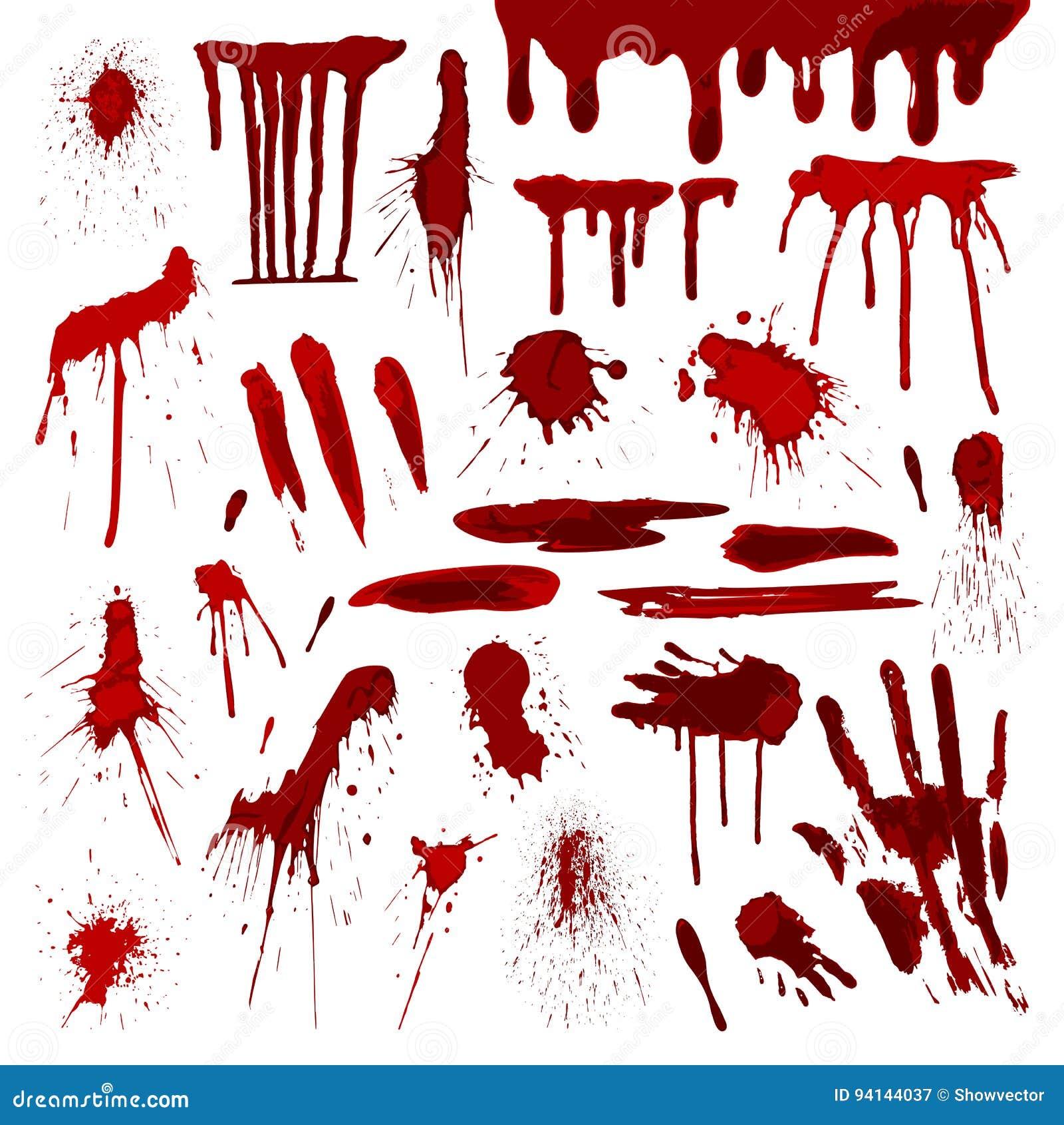 Sang ou vecteur sale abstrait grunge de marque de tache de tache d éclaboussure d éclaboussures de peinture de tache de correctio