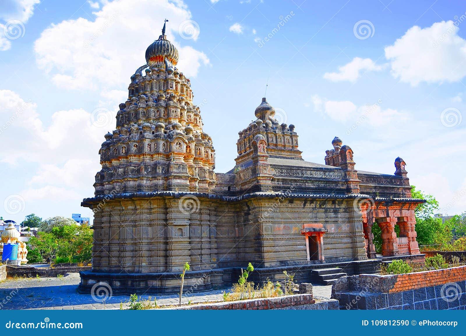 Sangameshwar świątynia blisko Saswad, Pune, maharashtra