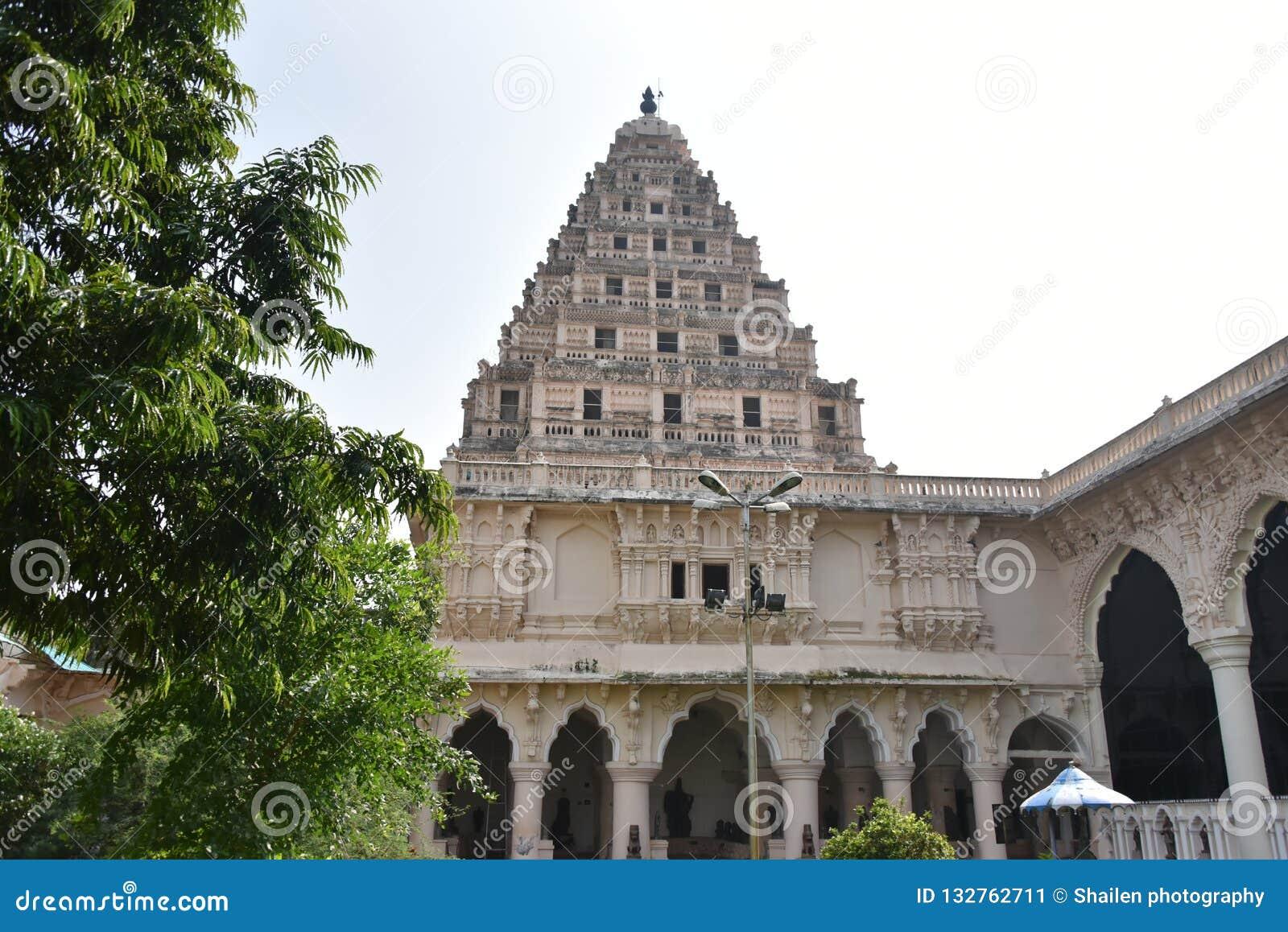 Sangeetha Mahal, Maratha Palace, Thanjavur, Tamil Nadu Stock