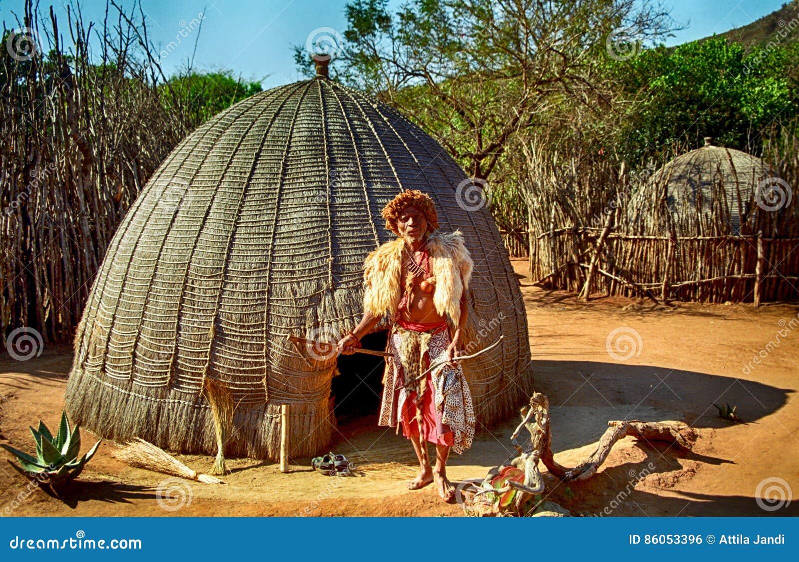 Sangoma, The Magician, Swaziland Editorial Photo - Image of culture