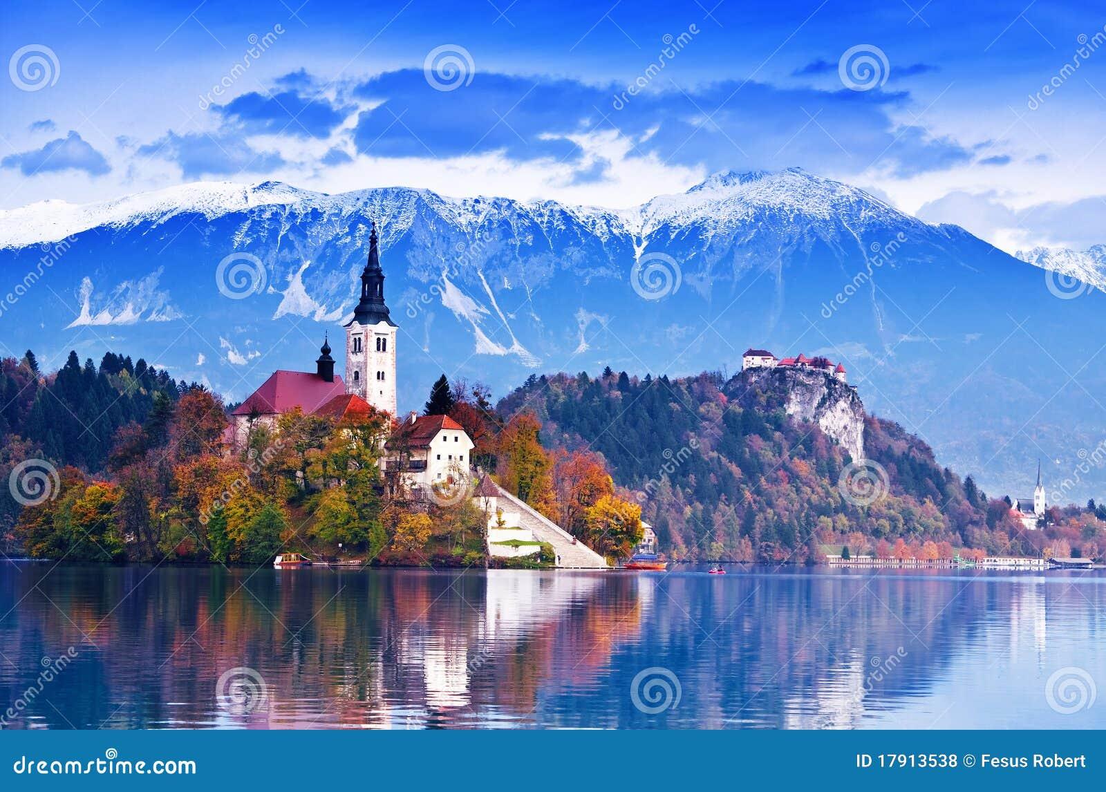 Sangrado, Eslovenia, Europa