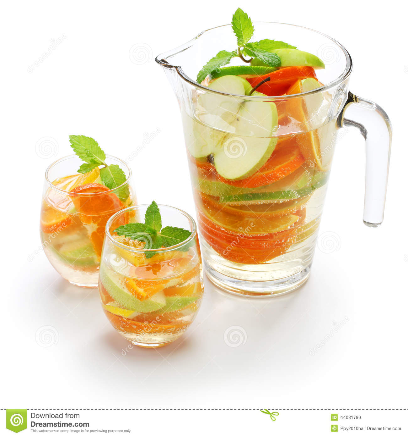 Sangria Blanca, White Sangria Stock Photo - Image: 44031790