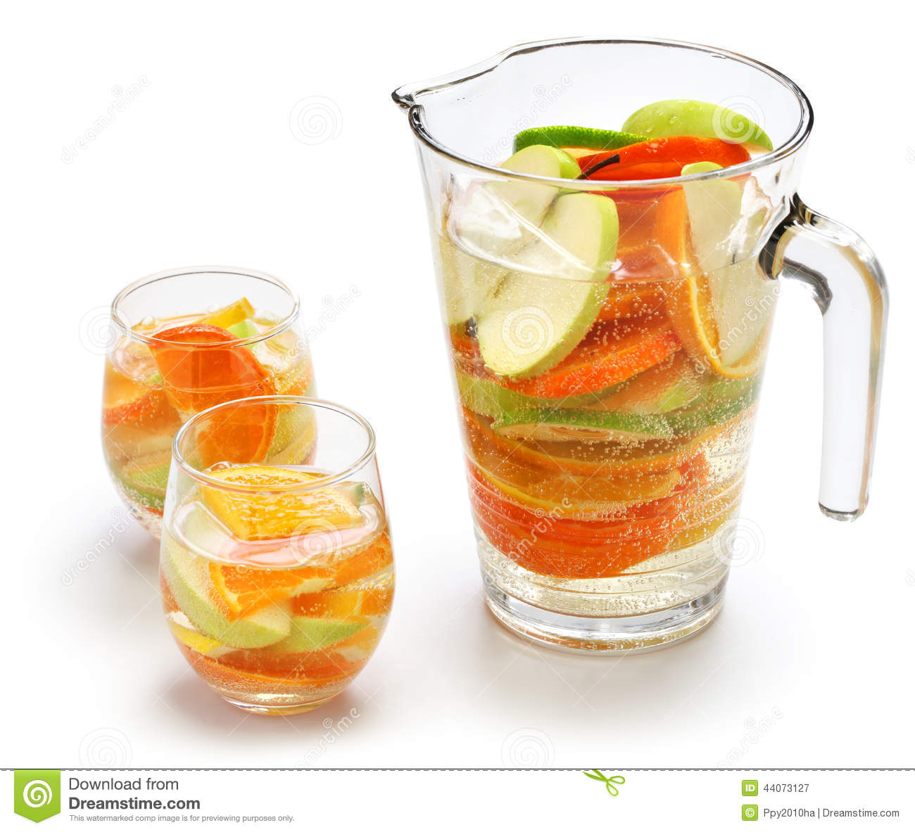 Sangria Blanca, White Sangria Stock Photo - Image: 44073127