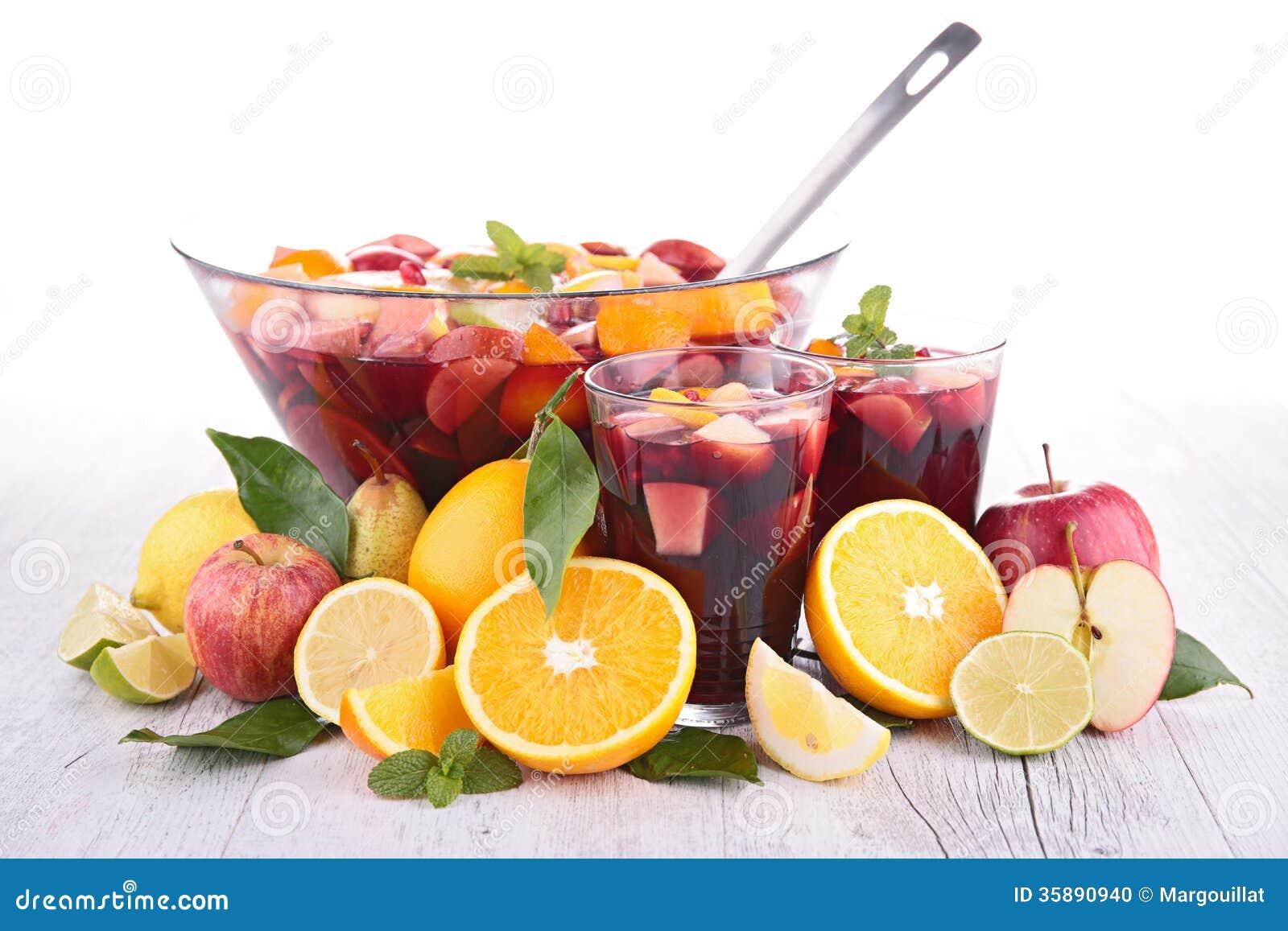 Sangria de fruit, poinçon