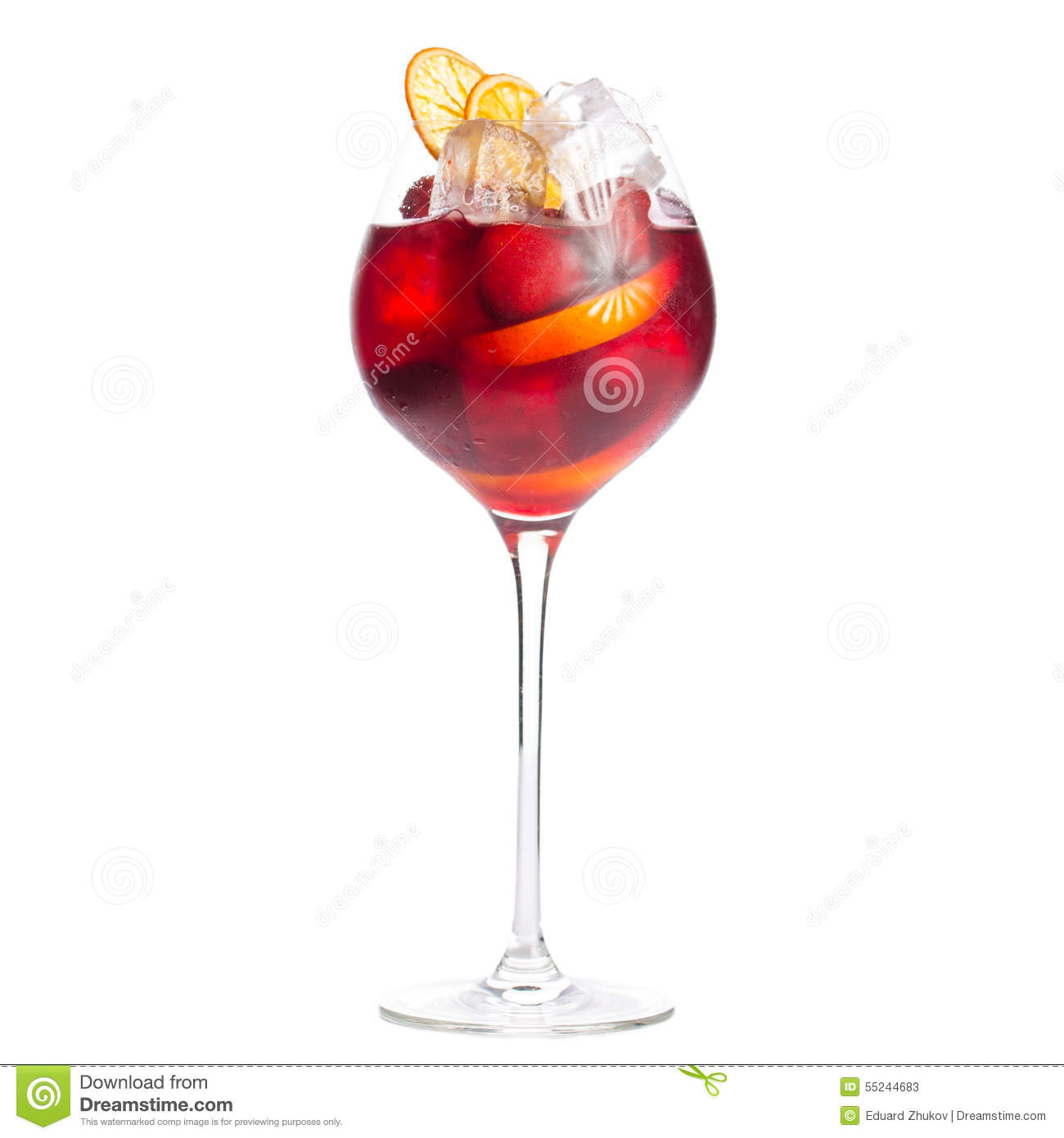 sangria stock image image of mint berries fruit party