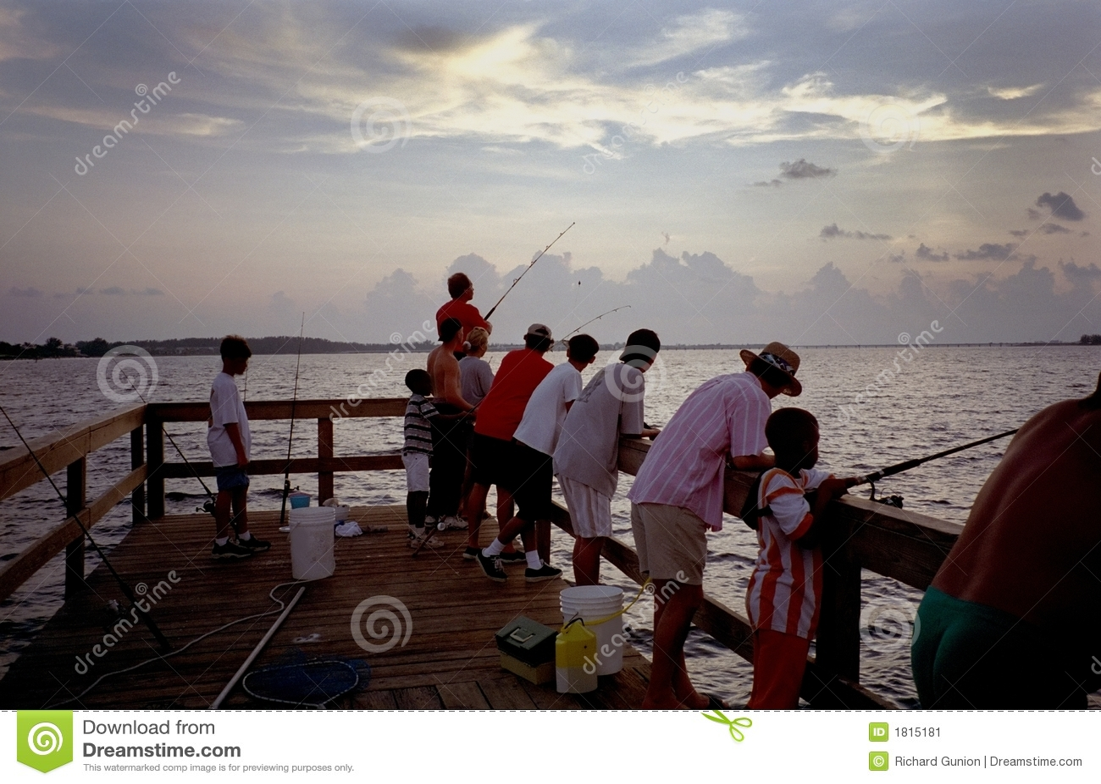 Sanibel island fishing pier stock image image 1815181 for Sanibel fishing pier