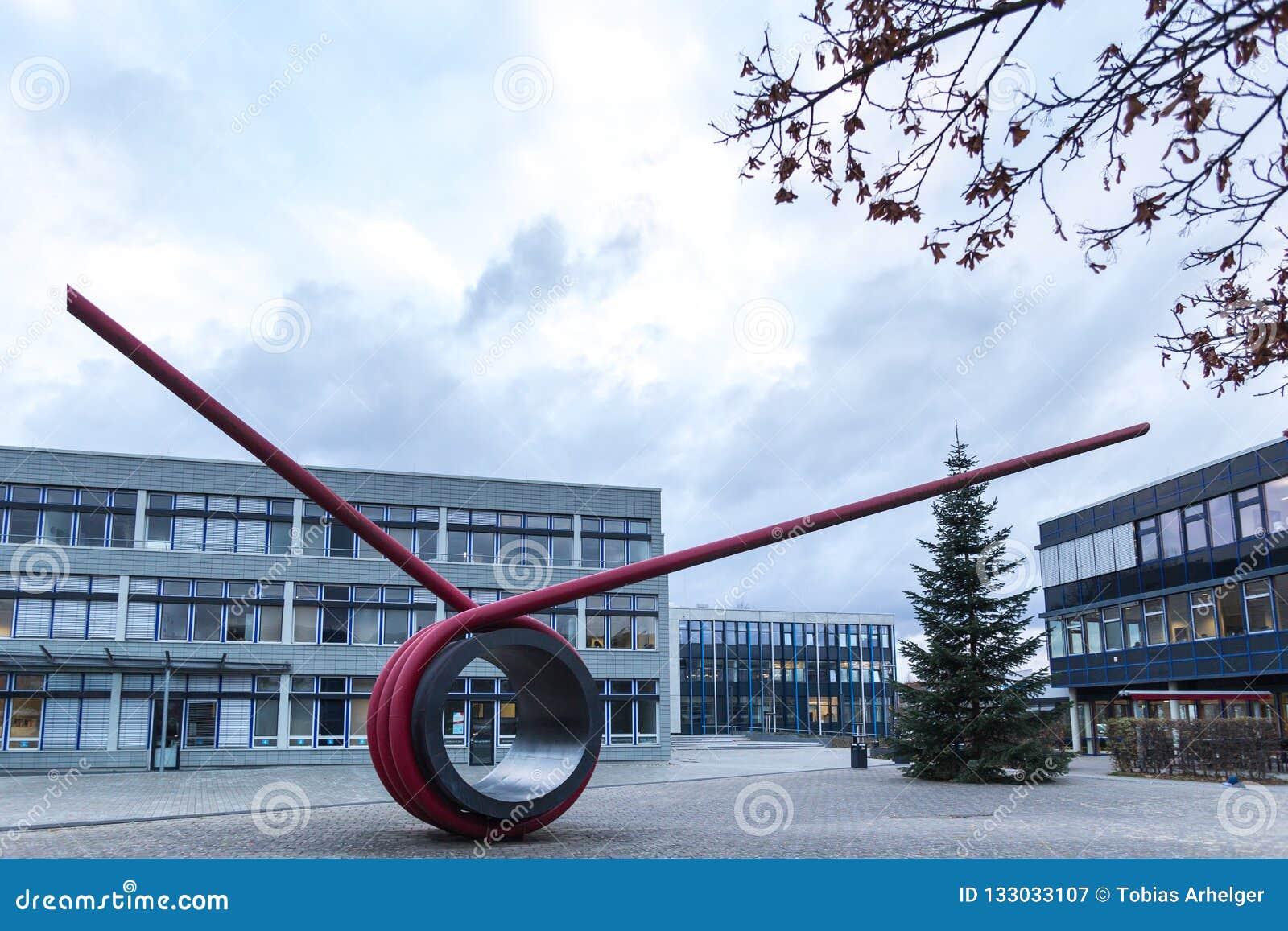 Sankt Augustin Północny Westphalia, Germany,/- 09 11 18: bonn Rhein sieg uniwersytet w sankt Augustin Germany