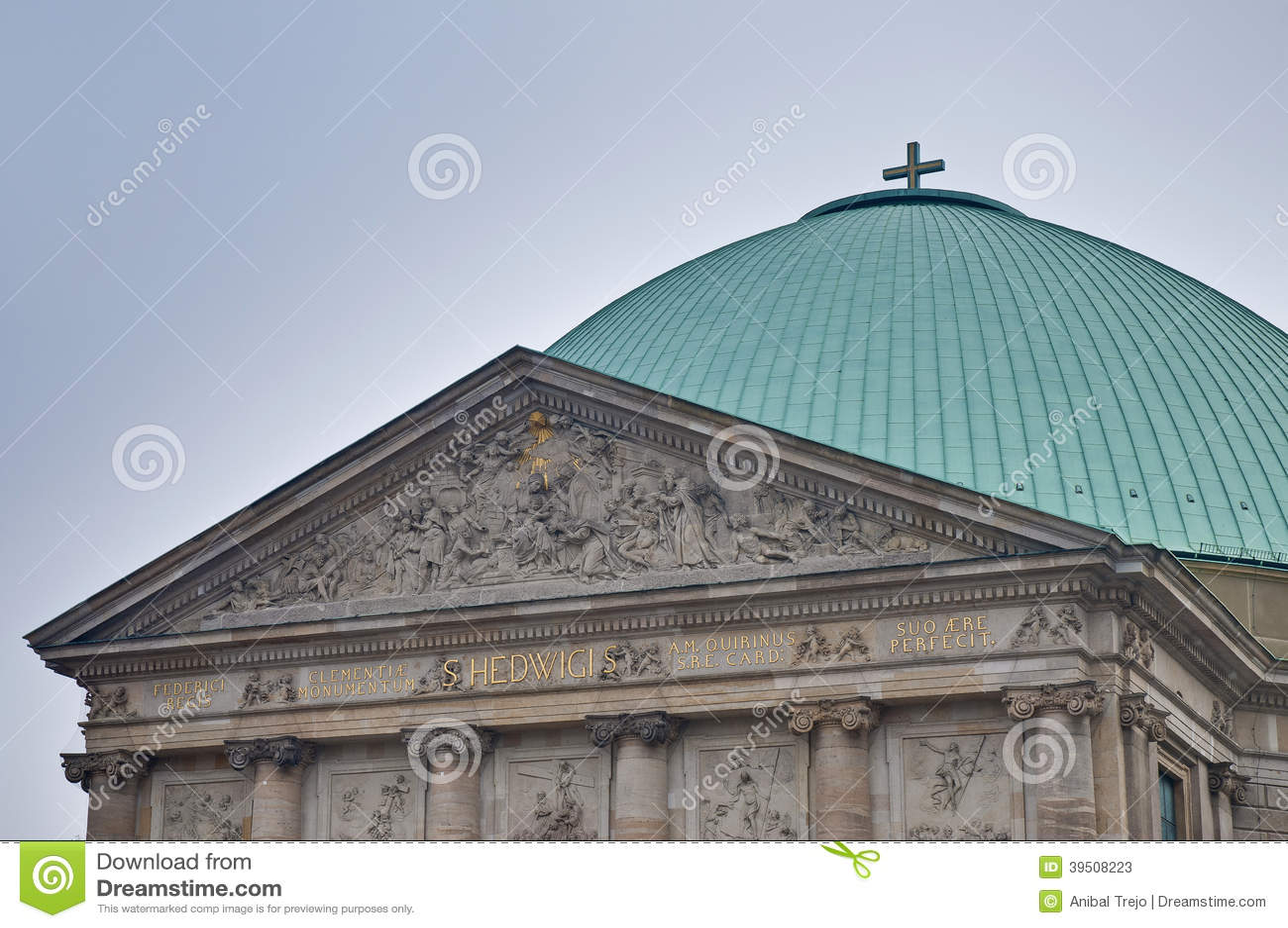Sankt-Hedwigs-Kathedrale in Berlin, Germany