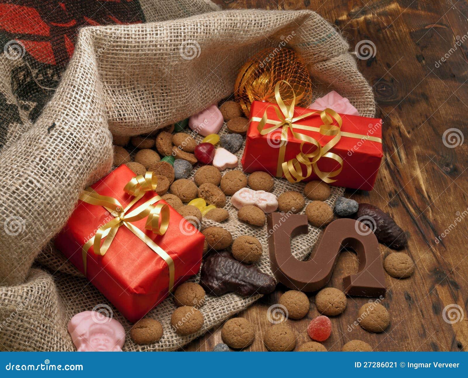 Sanktt Nicholas påse med gåvor