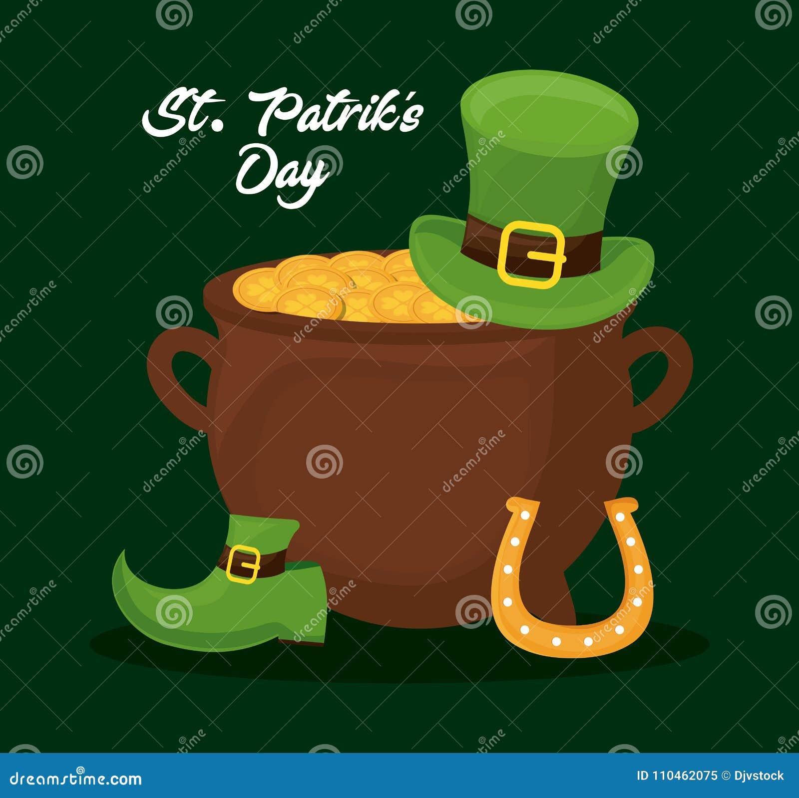 Sanktt Patricks dagdesign