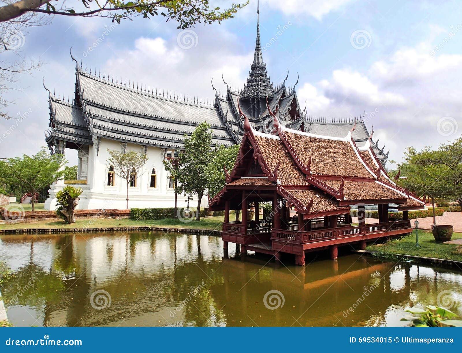 Sanphet Prasat Palace, Muang Boran, Ancient City Siam ...