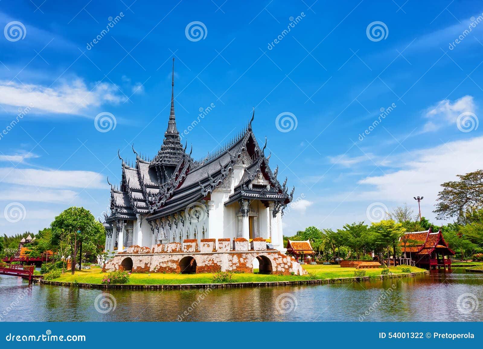 Sanphet Prasat slott, forntida stad, Bangkok