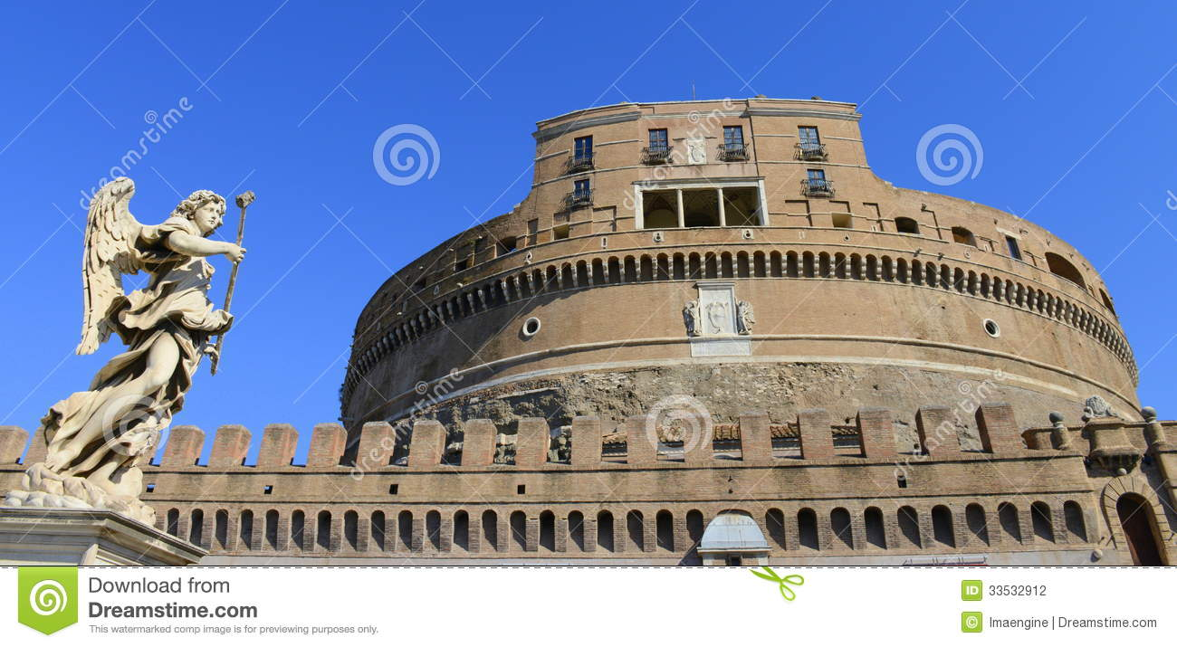 Sanr Angelo Castle, Rome, Italy