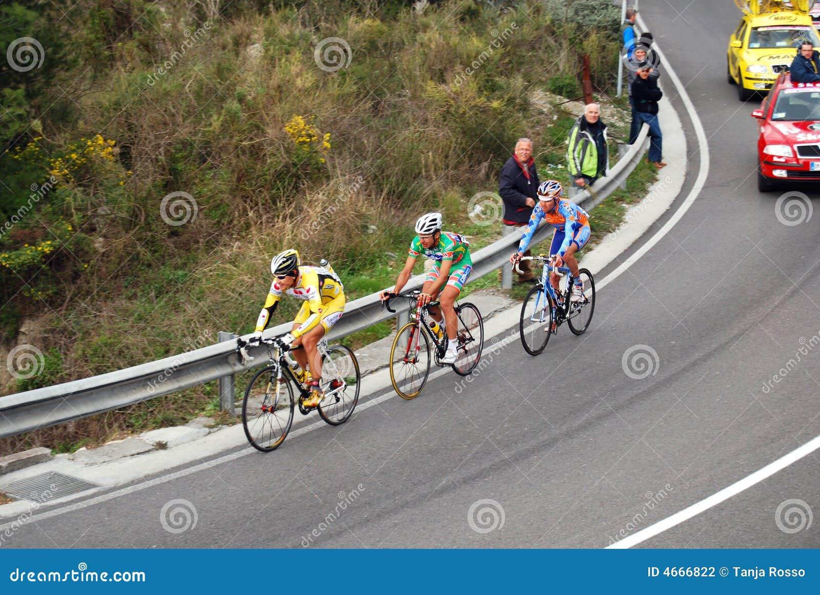 Sanremo för 2008 cirkulering milan race