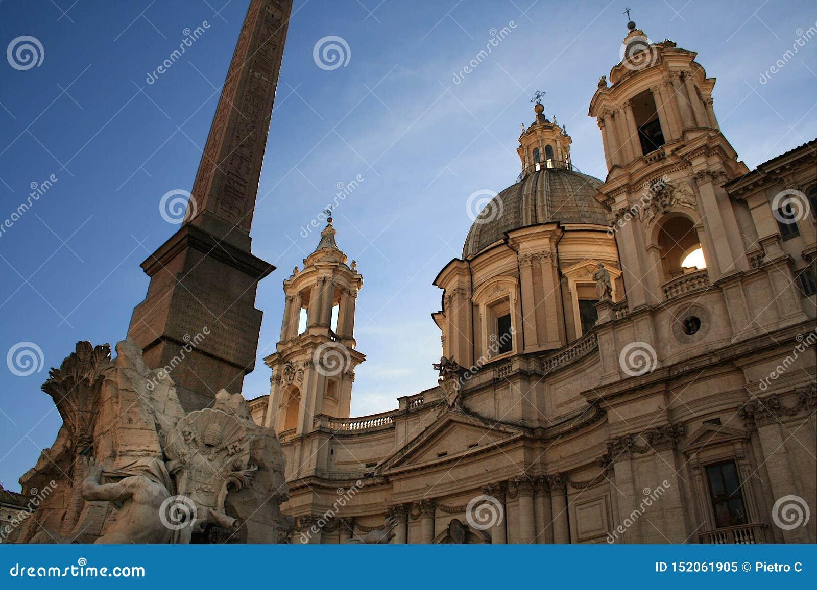 Sant`Agnese in Agone - Piazza Navona Rome