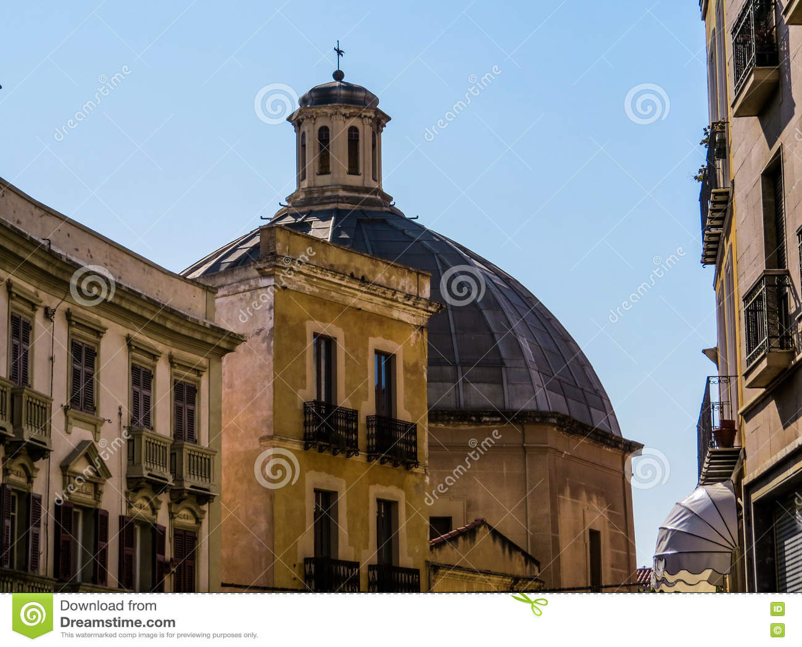 Sant Antonio Osłabia kościół w Cagliari
