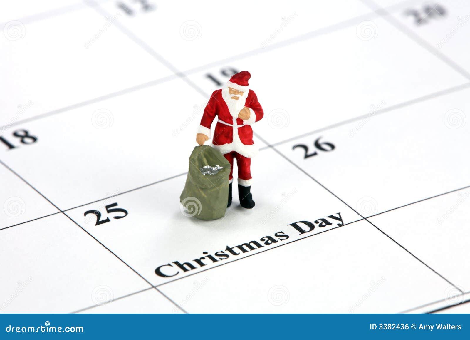 Santa ημερολογιακών Χριστουγέννων