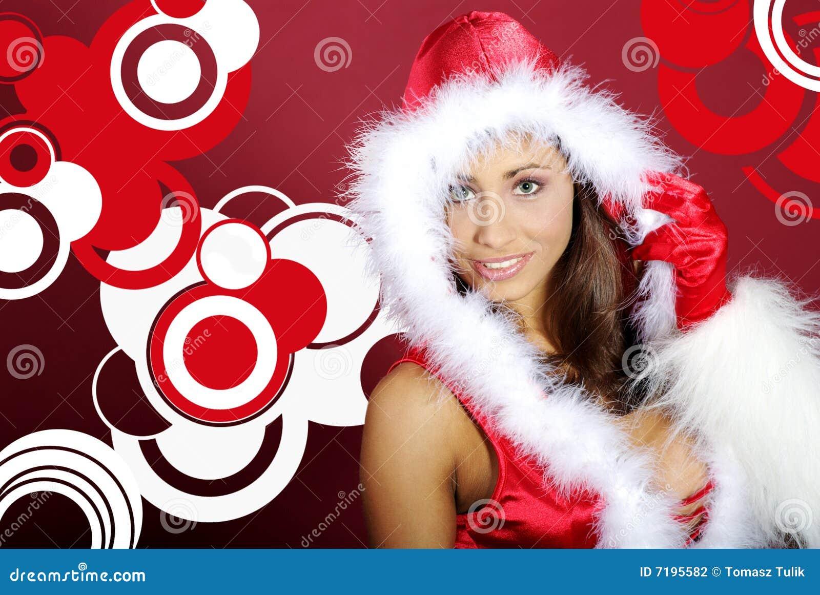 Santa κοριτσιών προκλητικό