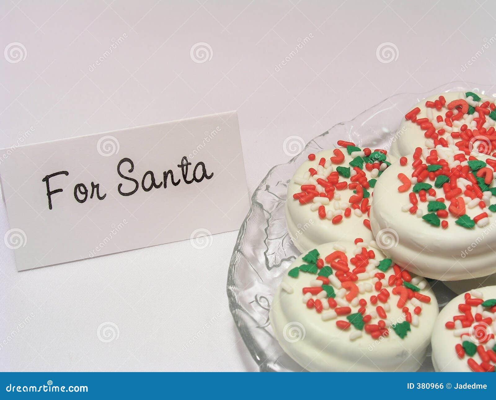 Santa μπισκότων επίσης