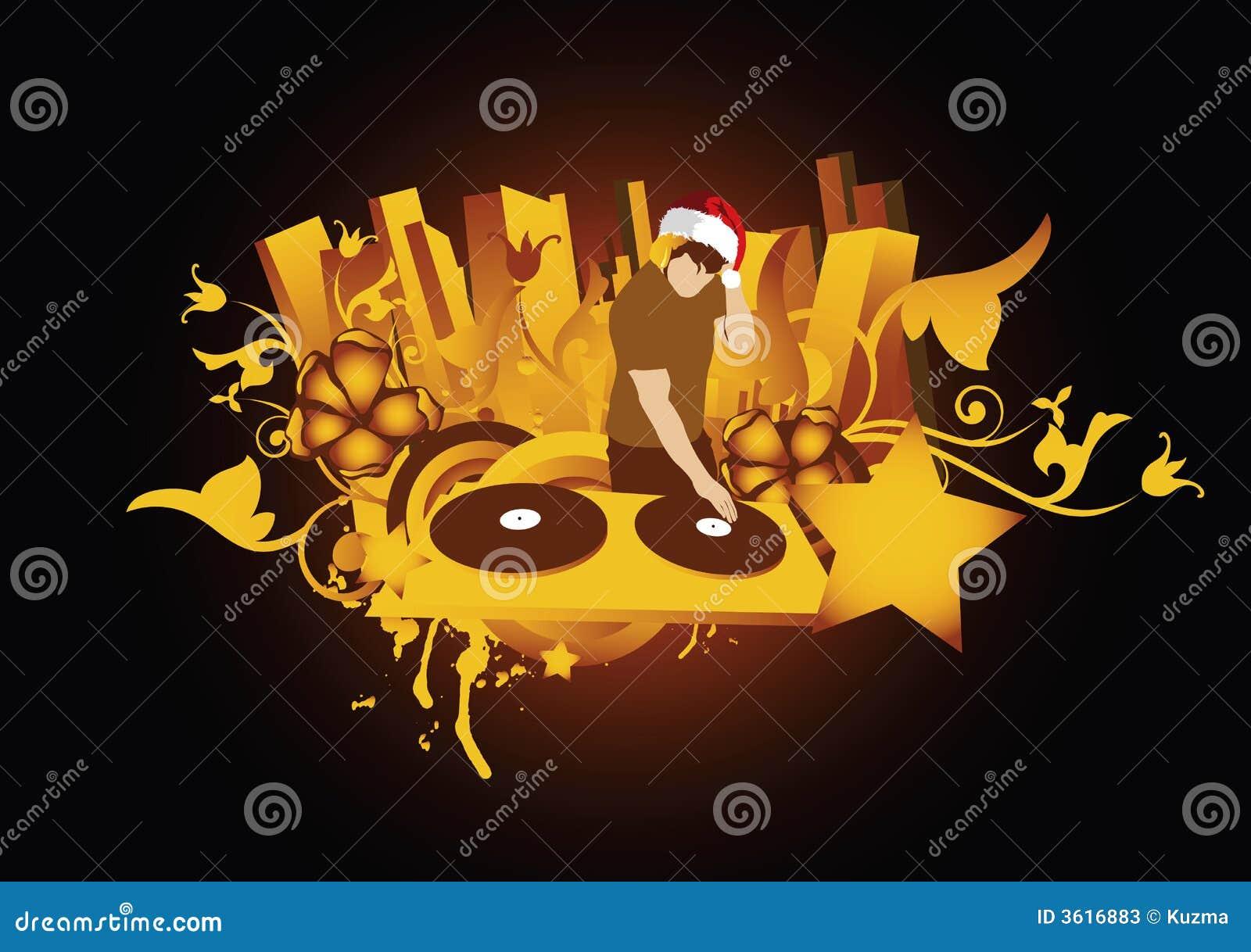 Santa του DJ