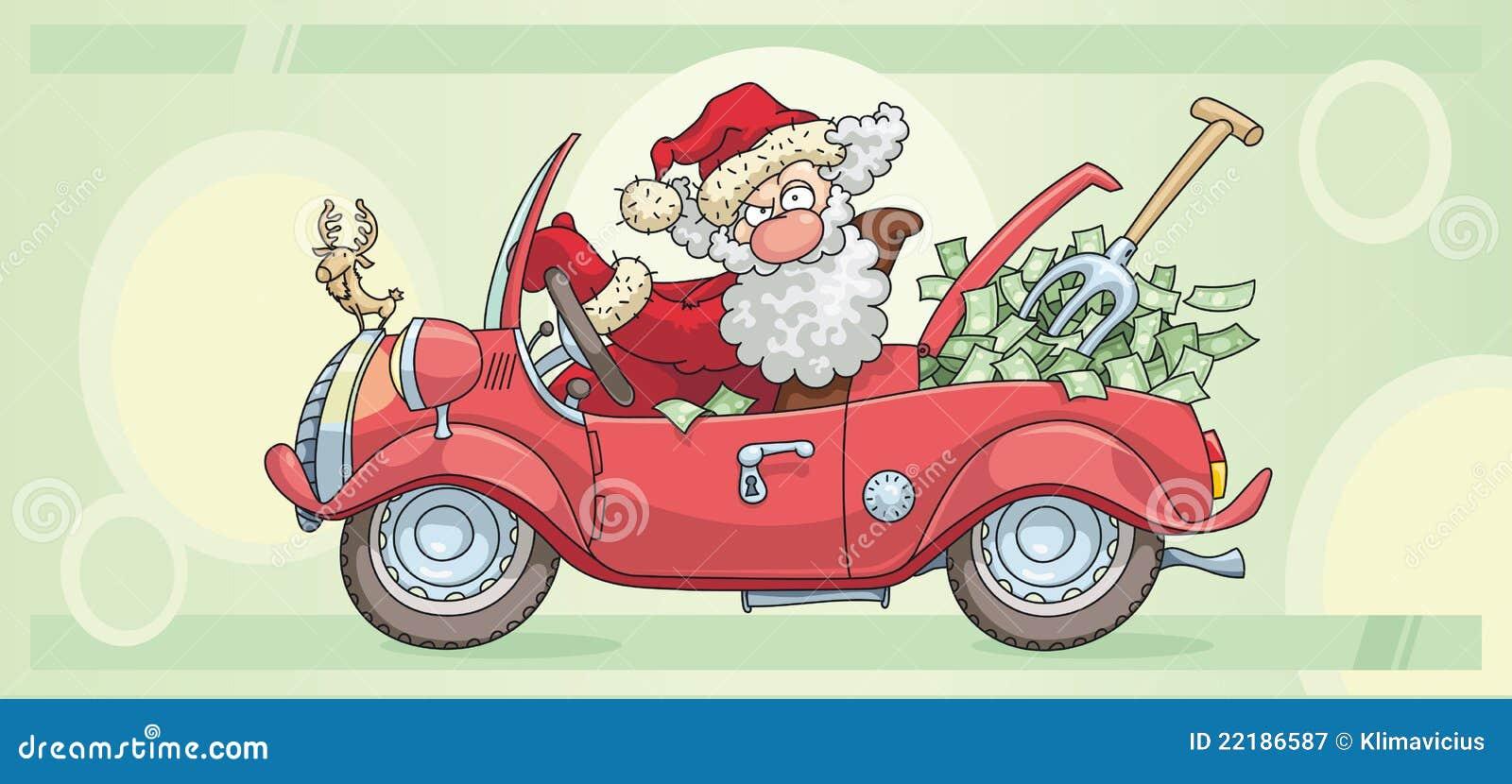 Santa χρημάτων Claus