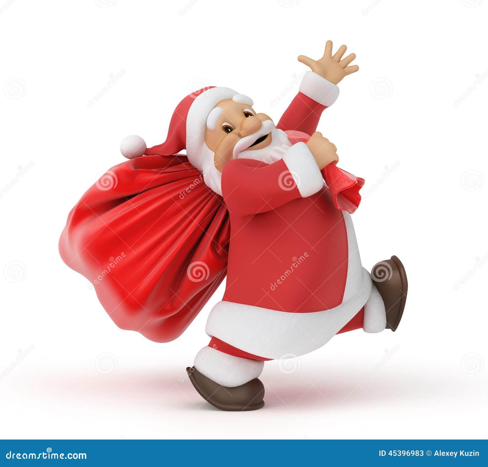 Santa δώρων Claus τσαντών