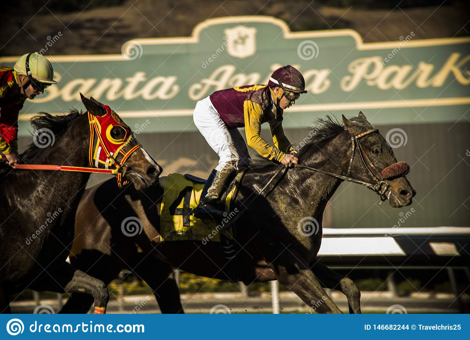 Santa Anita Horse Racing Track