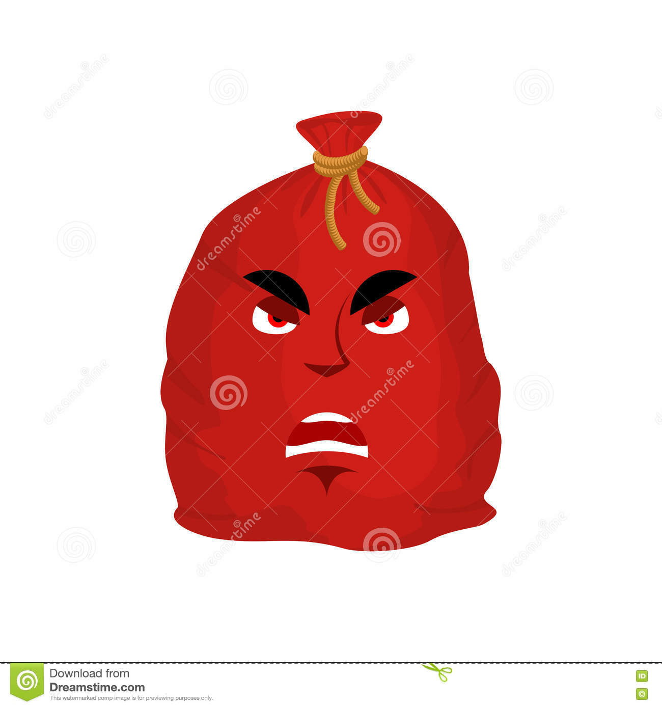 Santa Bag Angry Emotion Red Christmas Sack With Gift Emoji Sac Stock Vector Illustration Of Material Gift 82563802 💡 how much does the shipping cost for emoji gift? santa bag angry emotion red christmas sack with gift emoji sac stock vector illustration of material gift 82563802