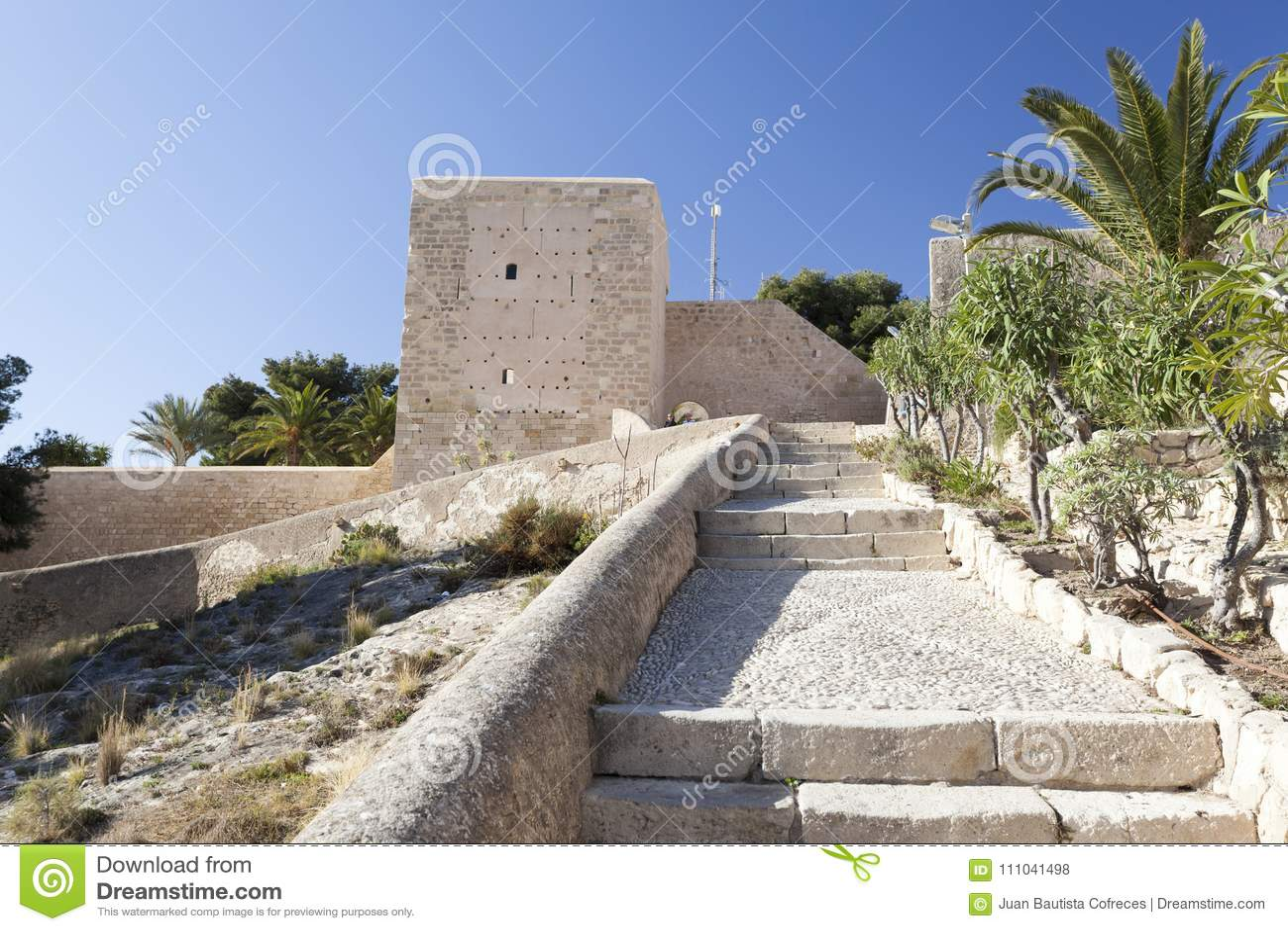 Santa Barbara Castle Fortress Historic Monument Alicante Spa