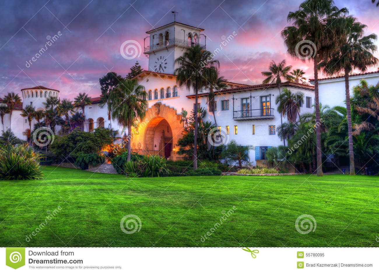 Santa Barbara Courthouse.