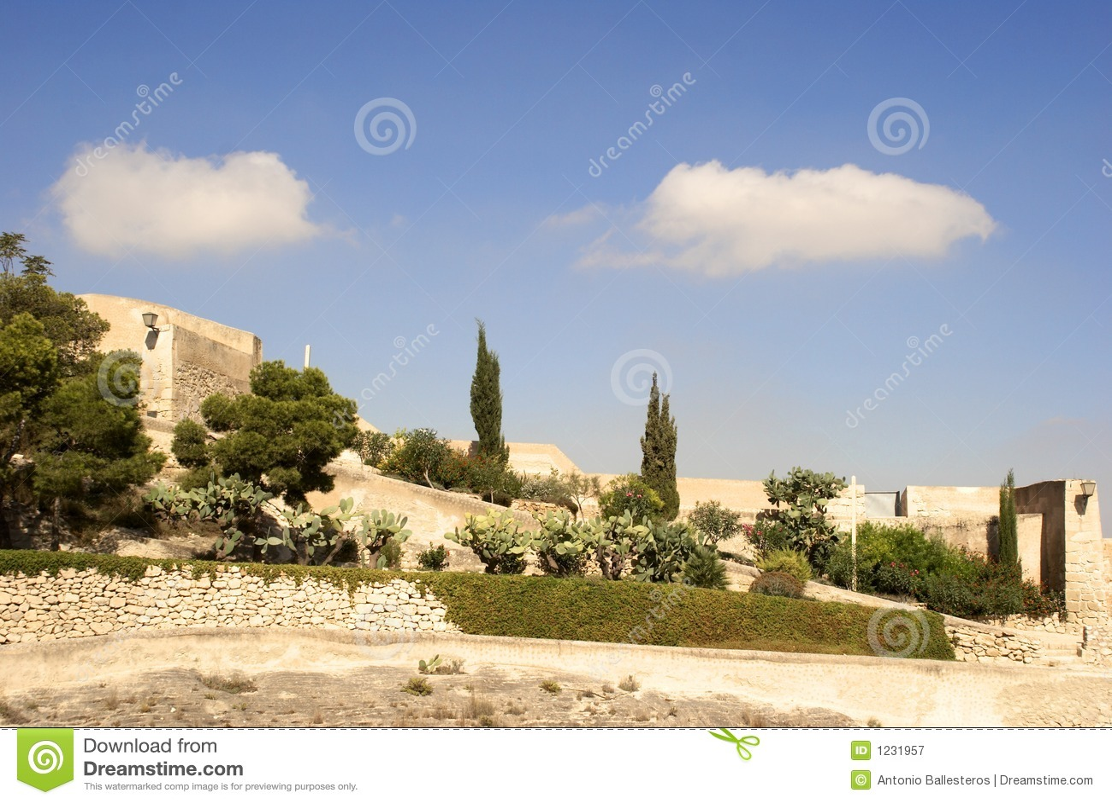 Santa barbara zamku