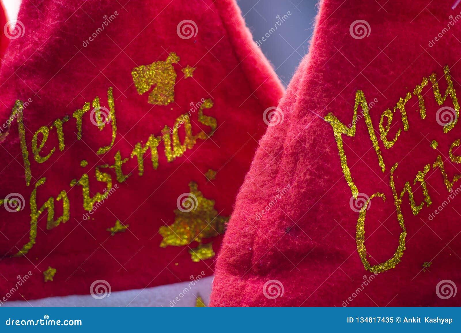 Santa caps for christmas