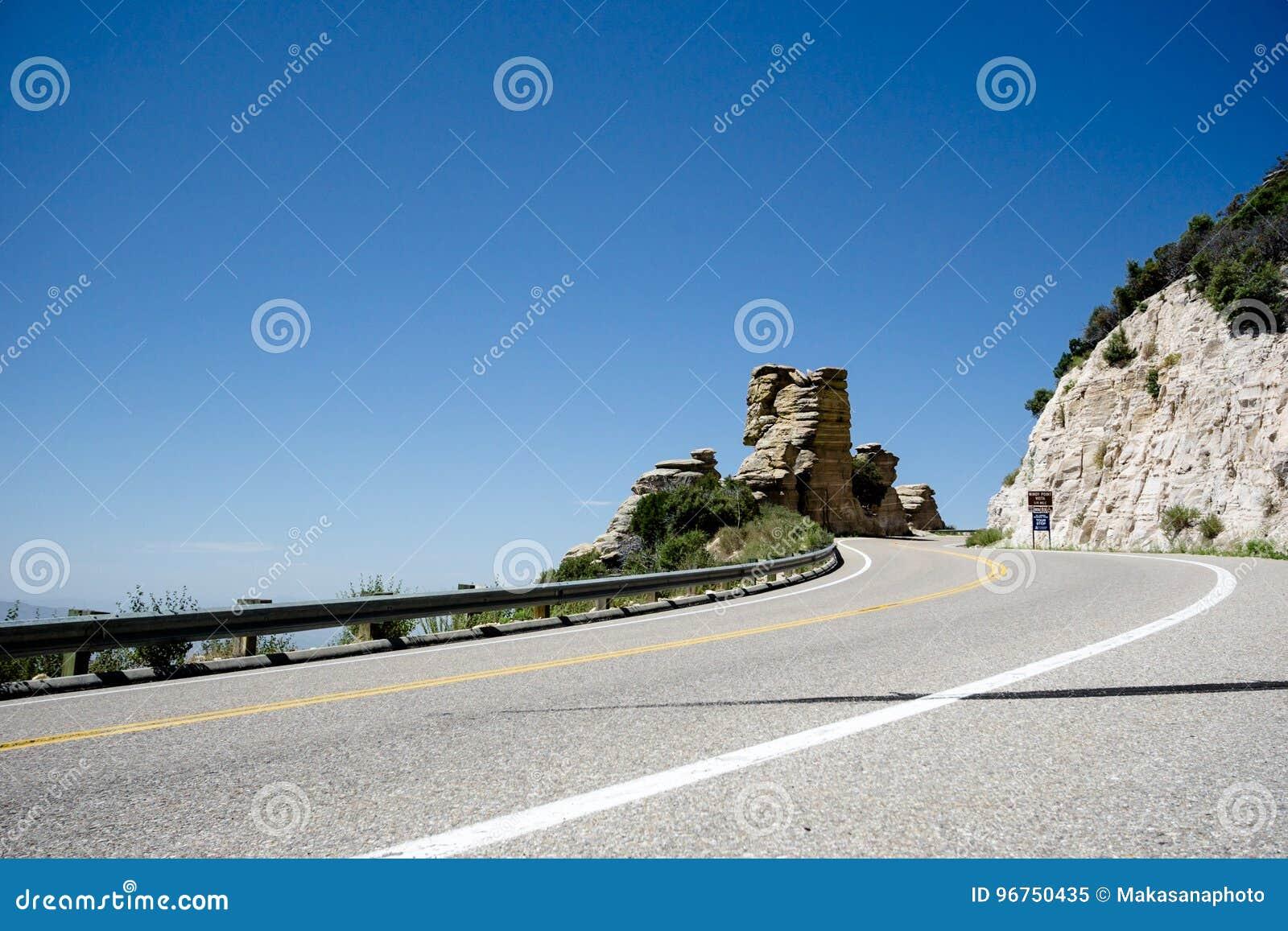Santa Catalina Highway en Arizona