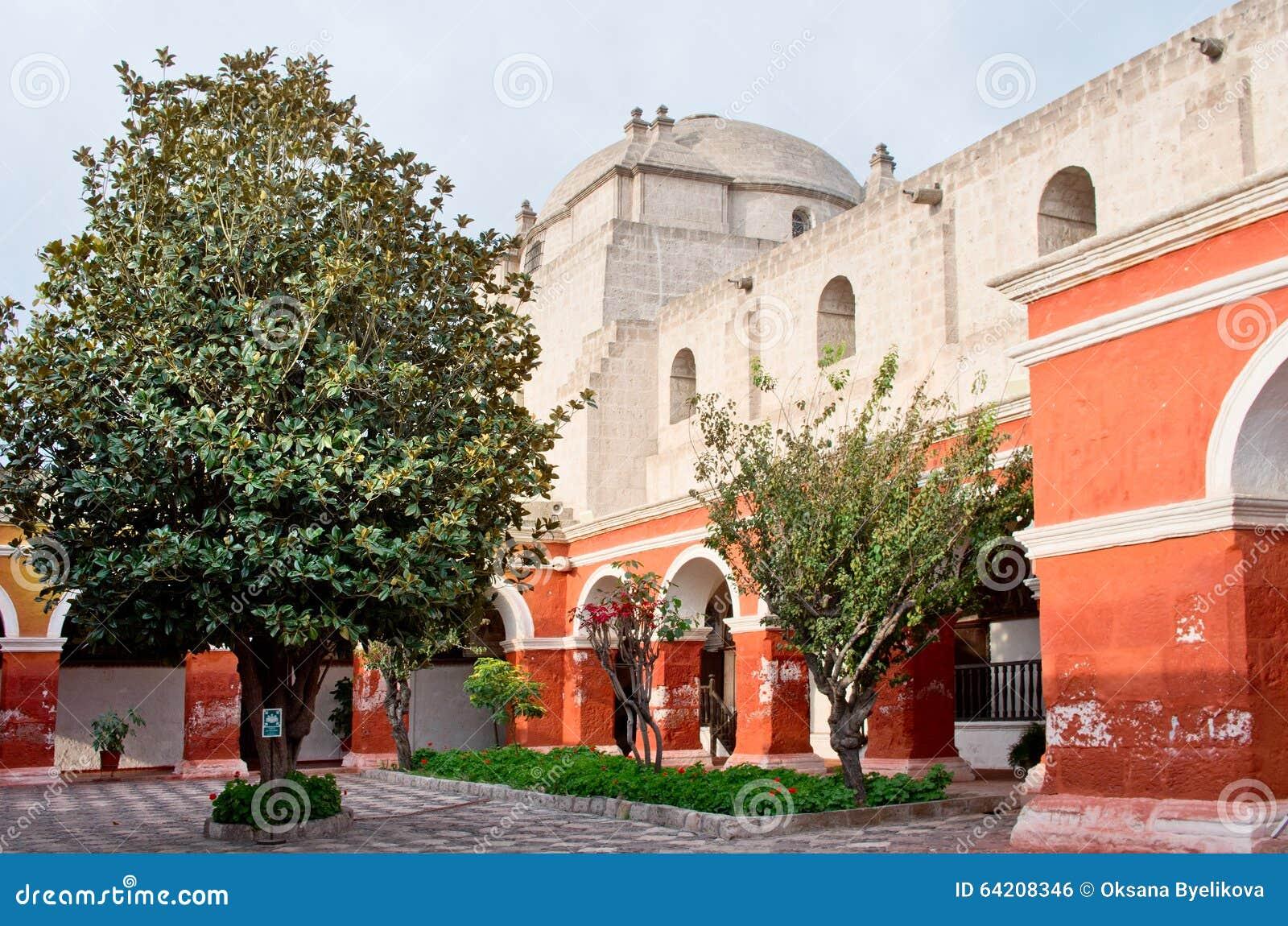 Santa Catalina Monastery en Arequipa, Perú